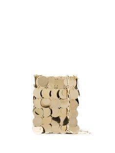 Paco Rabanne сумка через плечо с крупными пайетками