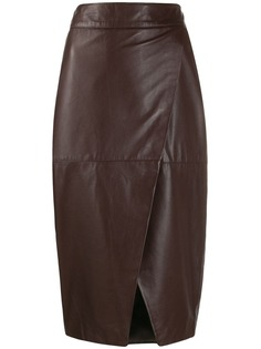 LAutre Chose юбка-карандаш с запахом