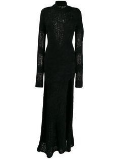 UNRAVEL PROJECT трикотажное длинное платье