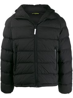 Napapijri куртка в стиле колор-блок с капюшоном