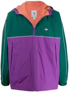 adidas куртка в стиле колор-блок
