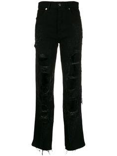 Almaz джинсы с прорезями