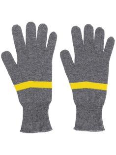 Fabiana Filippi перчатки с контрастными полосками