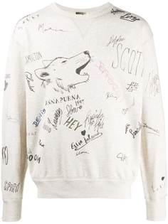 Isabel Marant sketch-print sweatshirt