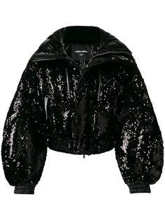 Chen Peng куртка-пуховик с пайетками