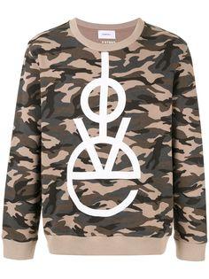 Ports V камуфляжный свитер с принтом Love