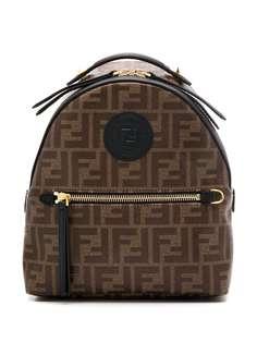 Fendi мини-рюкзак с узором