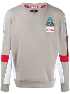 Alpha Industries толстовка Space Camp