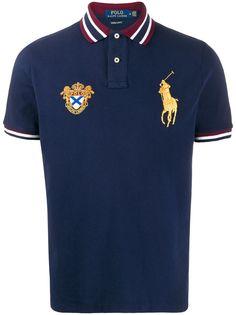 Polo Ralph Lauren рубашка-поло с вышивкой