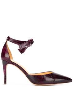 Alexandre Birman туфли-лодочки с тиснением под змеиную кожу