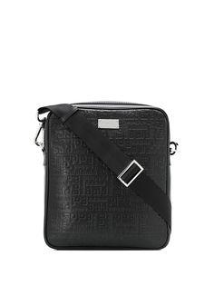 Baldinini сумка-мессенджер с тисненым логотипом