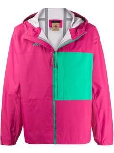 Nike легкая куртка в стиле колор-блок с капюшоном