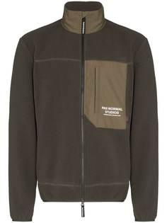 Pas Normal Studios флисовая куртка с логотипом