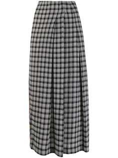 McQ Alexander McQueen юбка миди с контрастным принтом