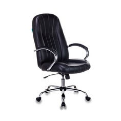 Кресло руководителя БЮРОКРАТ T-898SL, на колесиках, искусственная кожа [t-898sl/black]