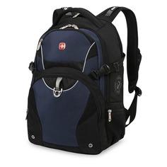 Рюкзак Wenger 3263203410 черный/синий 36x47x19см 32л. 1.12кг.