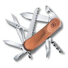 Складной нож VICTORINOX EvoWood 17, 13 функций, 85мм, дерево