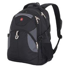Рюкзаки, чемоданы, сумки Рюкзак Wenger 3259204410 37x5x47см 32л. 0.9кг. полиэстер черный/серый