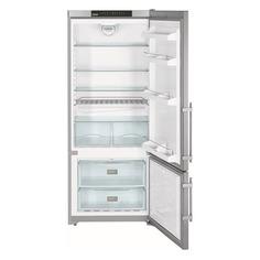 Холодильник LIEBHERR CNPesf 4613, двухкамерный, серебристый