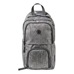 Рюкзаки, чемоданы, сумки Рюкзак Wenger 605029 19x33x12см 8л. 0.3кг. полиэстер темно-серый