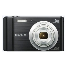 Цифровой фотоаппарат SONY Cyber-shot DSC-W800, черный