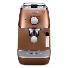 Кофеварка DELONGHI ECI341CP, эспрессо, медный [0132104146]
