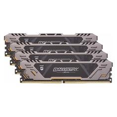 Модуль памяти CRUCIAL Ballistix Sport AT BLS4K8G4D26BFSTK DDR4 - 4x 8Гб 2666, DIMM, Ret