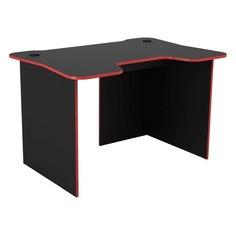 Стол игровой ВИТАЛ-ПК Рейд, ЛДСП, черный