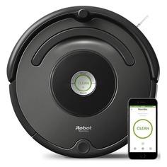 Робот-пылесос IROBOT Roomba 676, серый/черный