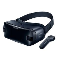 Очки виртуальной реальности SAMSUNG Galaxy Gear VR SM-R325, темно-синий [sm-r325nzvdser]