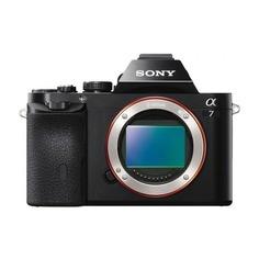 Системные камеры Фотоаппарат SONY Alpha A7 II body, черный [ilce7m2b.cec]