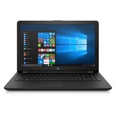 "Ноутбук HP 15-bs181ur, 15.6"", Intel Pentium 4417U 2.3ГГц, 4Гб, 500Гб, 0хIntel HD Graphics 610, DVD-RW, Windows 10, 4UT95EA, черный"