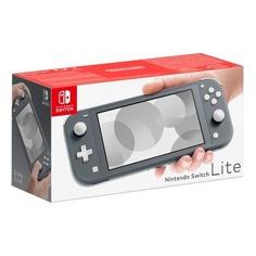 Игровая консоль NINTENDO Switch Lite серый