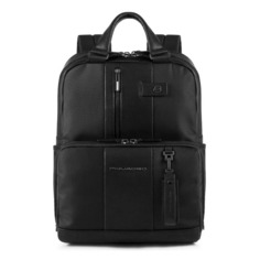 Рюкзак Piquadro Brief CA3975BR/N черный натур.кожа/ткань