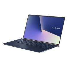 """Ноутбук ASUS Zenbook UX533FD-A8078T, 15.6"""", Intel Core i7 8565U 1.8ГГц, 8Гб, 512Гб SSD, nVidia GeForce GTX 1050 MAX Q - 2048 Мб, Windows 10, 90NB0JX1-M01140, темно-синий"""