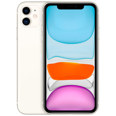 Смартфон Apple iPhone 11 64GB White (MWLU2RU/A)