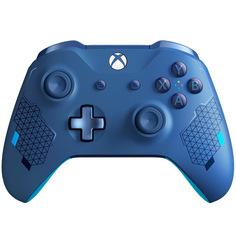 Аксессуар для игровой консоли Microsoft беспроводной геймпад Sports Blue Special Edition