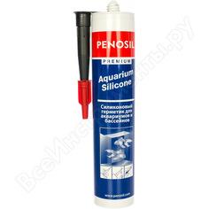 Силиконовый герметик для аквариумов penosil aq черный н1309