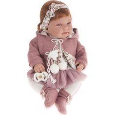 Кукла Juan Antonio Саманта в розовом 40 см