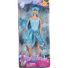 Кукла Defa Фея в голубом наряде 26 см