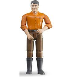 Фигурка Bruder Мужчина в коричневых джинсах 11 см
