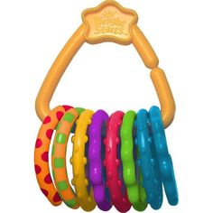 Развивающая игрушка Bright Starts Веселые колечки