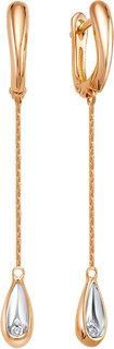 Золотые серьги Серьги Vesna jewelry 2988-151-00-00