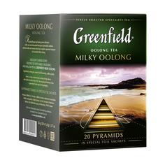 Чай Greenfield Milky Oolong в пирамидках 20х2 г