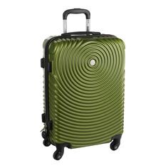 Чемодан proffi travel tour space 24 пластиковый средний 64х43х26 оливковый