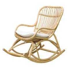 Кресло-качалка Joenfa Lorent с подушкой