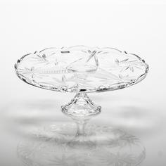 Тарелка для торта Crystalite Bohemia Нова Пинвил 31 см