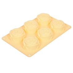 Форма для выпечки и запекания Marmiton Розы 6 ячеек