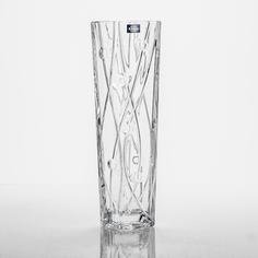 Ваза Crystalite Bohemia Лабиринт 30,5 см
