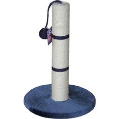 Когтеточка для кошек MAJOR Столбик 65 см Синий